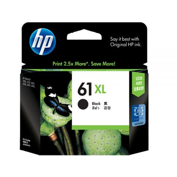 HP NO.61XL 黑色原廠墨水匣 CH563WA