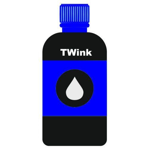 CANON 250cc 藍色瓶裝墨水