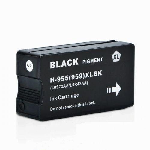HP 955XL 黑色相容墨水匣 L0S72AA OfficeJet Pro 7720 / 7740 / 8210 / 8710 / 8720 / 8730