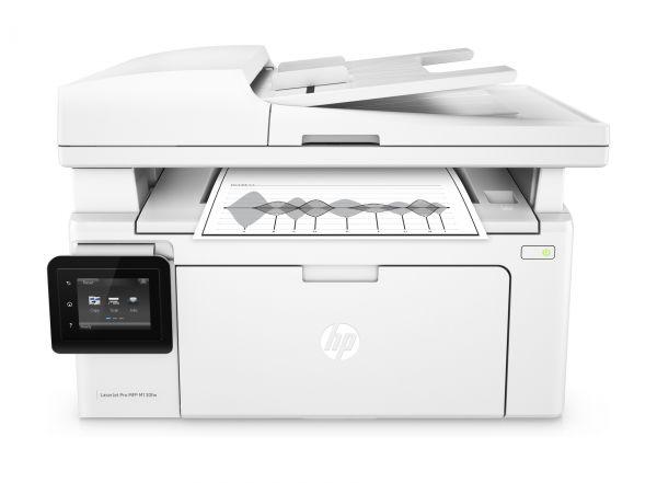 HP LaserJet Pro M130fw 黑白雷射傳真複合機 印表機 (G3Q60A) 內建無線網路
