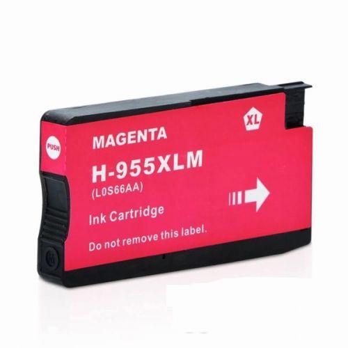 HP 955XL 紅色相容墨水匣 L0S66AA OfficeJet Pro 7720 / 7740 / 8210 / 8710 / 8720 / 8730