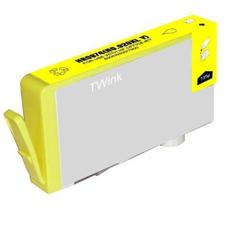 HP CD974AA 黃色相容墨水匣  NO.920XL