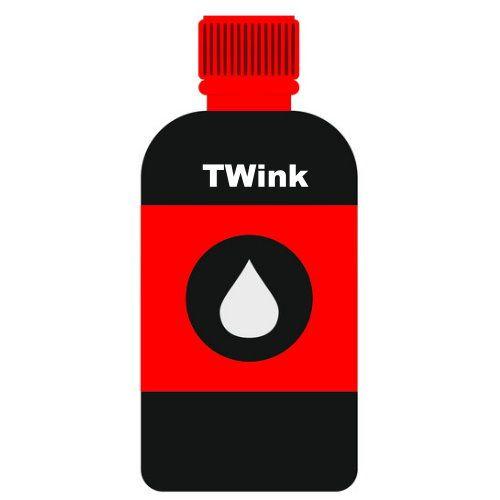 CANON 500cc 紅色瓶裝墨水