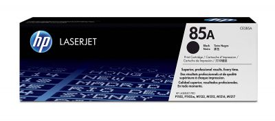 HP 85A 黑色原廠碳粉匣 (CE285A)