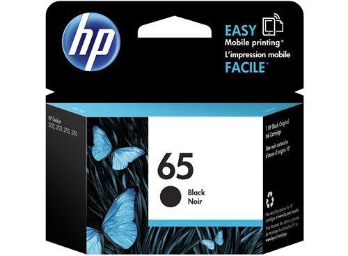 HP 65 原廠黑色墨水匣 NO.65 N9K02AA