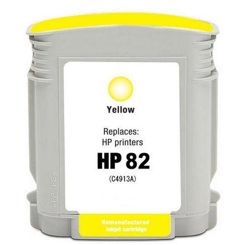 HP C4913A 黃色相容墨水匣  NO.82
