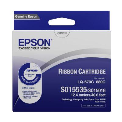 EPSON S015016 / S015535 原廠色帶 LQ-680C