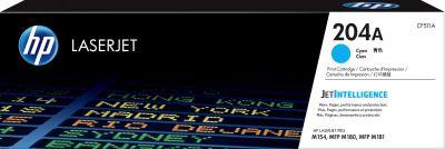 HP CF511A  原廠藍色碳粉匣 (204A) Color LaserJet Pro M154nw / M181fw