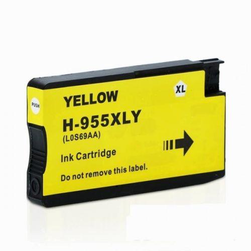 HP 955XL 黃色相容墨水匣 L0S69AA OfficeJet Pro 7720 / 7740 / 8210 / 8710 / 8720 / 8730