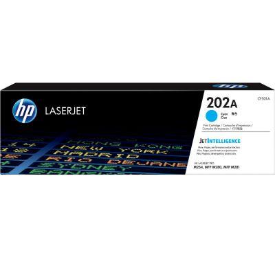 HP CF501A 藍色原廠碳粉匣 202A