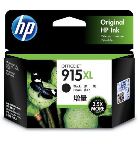 HP 915XL 黑色原廠墨水匣 3YM22AA