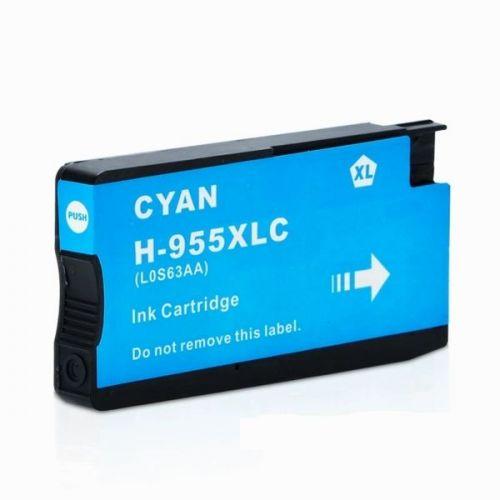 HP 955XL 藍色相容墨水匣 L0S63AA OfficeJet Pro 7720 / 7740 / 8210 / 8710 / 8720 / 8730