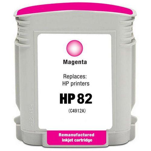 HP C4912A 紅色相容墨水匣  NO.82