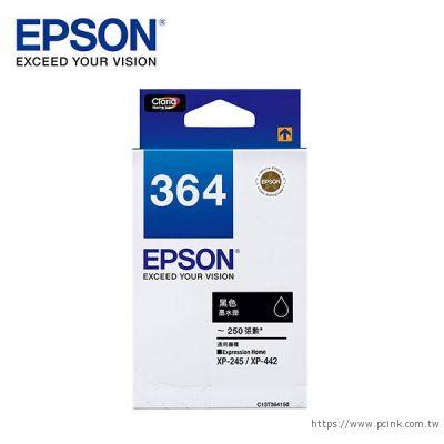 EPSON C13T364150 黑色原廠墨水匣