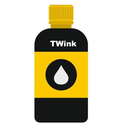 CANON 500cc 黃色瓶裝墨水