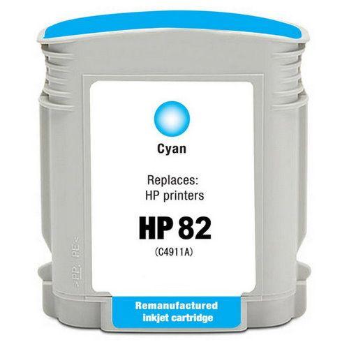 HP C4911A 藍色相容墨水匣  NO.82